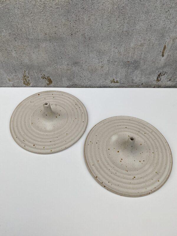 Keramik håndlavet incent holder