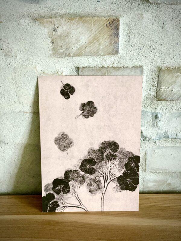 Hortensia kunstkort