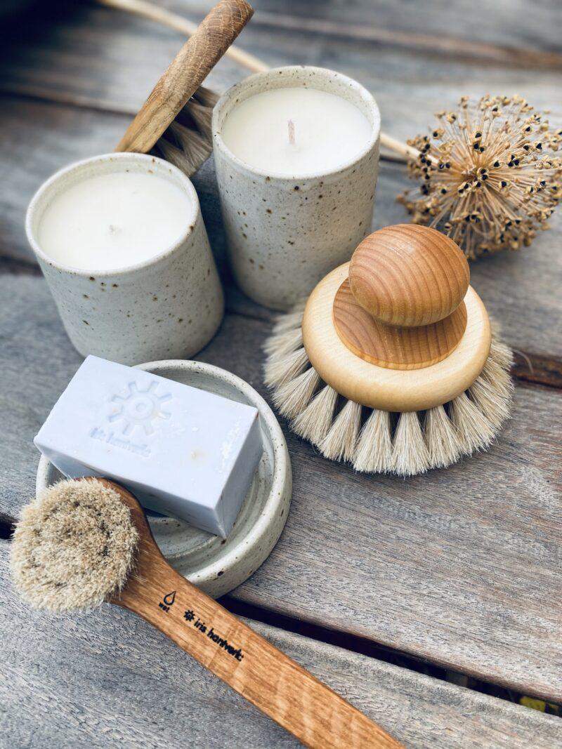 Håndlavede børster fra Iris Hantverk