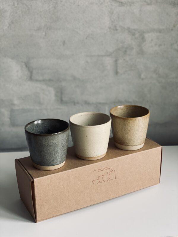 Keramikkopper i gaveæske