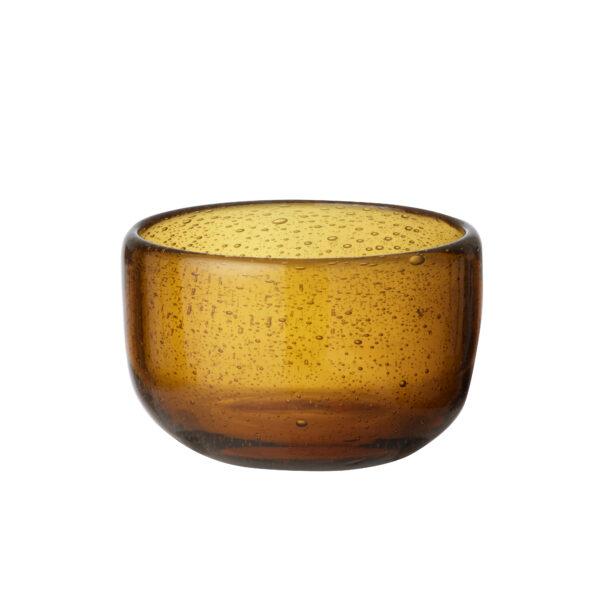 Bungalow glasskål Salon Amber