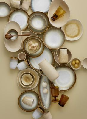 Bungalow glas og bakker