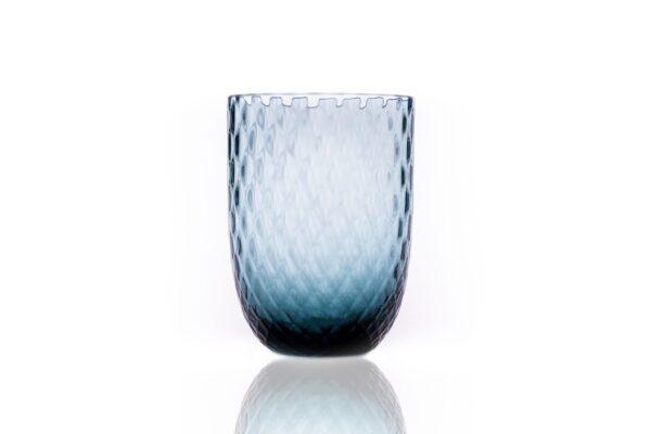 Vandglas Anna von Lipa Harlequin Blue