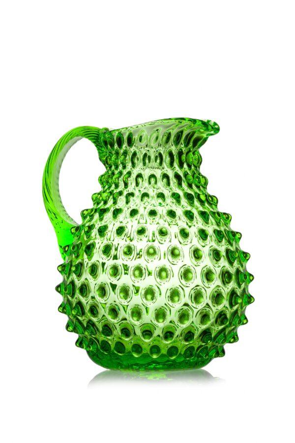 Pindsvinekande mundblæst grøn Anna von Lipa
