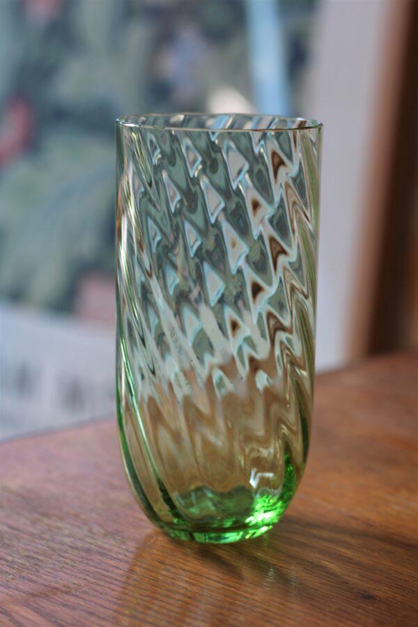 Long Drink glas grøn Anna von Lipa